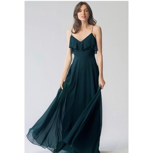 dc8ee9603c9 BRAND NEW Jenny Yoo Mila Dress in Caspian Sea